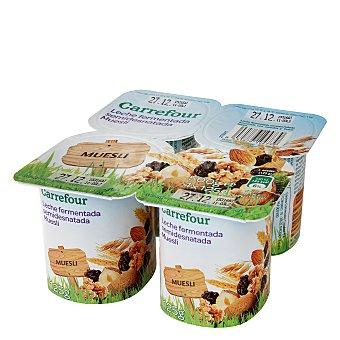 Carrefour Yogur con Muesli Pack de 4x125 g