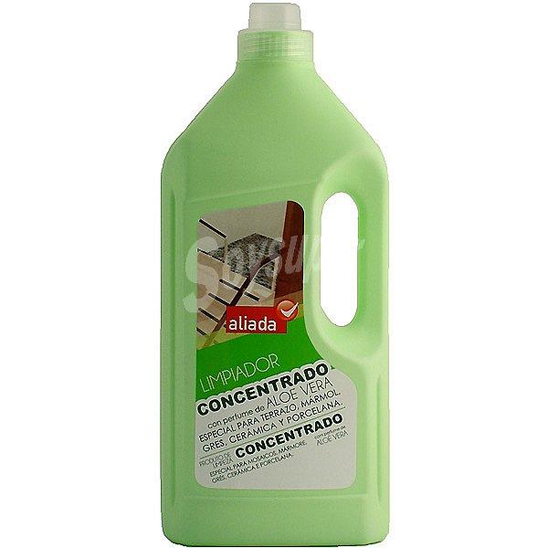 Aliada limpiador concentrado con aloe vera especial para for Limpiador para marmol
