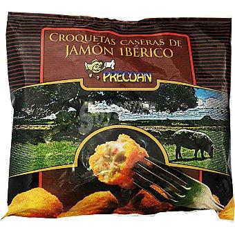 PRECOAN croquetas caseras de jamón ibérico bolsa 400 g