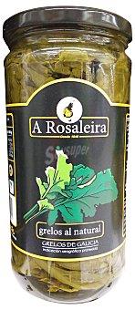 A Rosaleira Grelos al natural en conserva Tarro 640 g escurrido 330 g