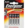 Pila Max +power AAA (lr3) blister 8 unidades + 4 gratis Blister 8 unidades + 4 gratis Energizer