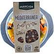 Ensalada mediterránea de lentejas con hortalizas de cultivo ecológico Tarrina 250 g Huercasa