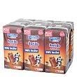 Batido de cacao Pack de 6 briks de 200 ml Carrefour Kids