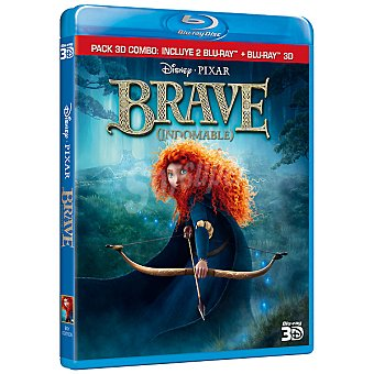 BRAVE Pack combo 3D Blu-Ray + Blu-Ray 3D