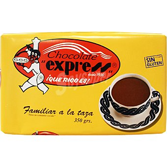 EXPRESS Familiar chocolate a la taza Tableta 350 g