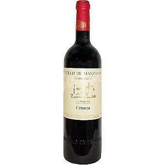 CASTILLO DE MANZANARES Vino tinto crianza de Castilla-La Mancha elaborado para grupo El Corte Inglés Botella 75 cl