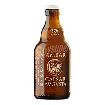 Ambar Cerveza trigo Caesaragusta 33 cl