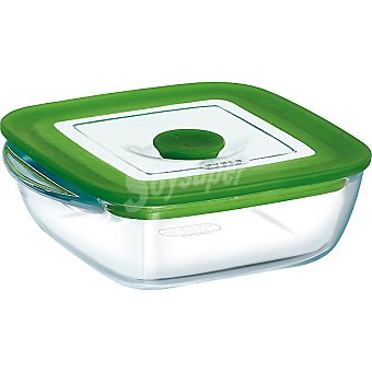 PYREX 4 in 1 Plus recipiente con tapa 20 x 17,5 cm