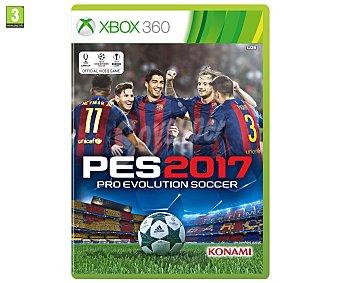 Deportes Videojuego Pro Evolution Soccer 2017 para Playstation 3. Género: deportes, fútbol, simulación. PEGI: +3 2017 Xbox 360