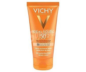 Vichy Ideal Soleil Crema solar tipo BB cream, con tacto seco y FPS 50+ (muy alto) 50 ml