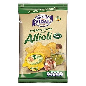 Vidal Patatas fritas onduladas sabor Alllioli Chovi 135 g