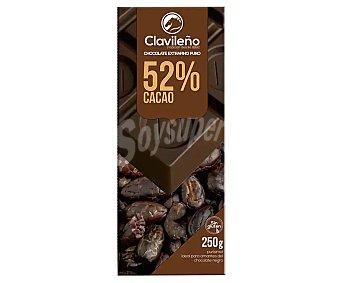 Clavileño Chocolate extrafino puro, 52 % cacao 250 g