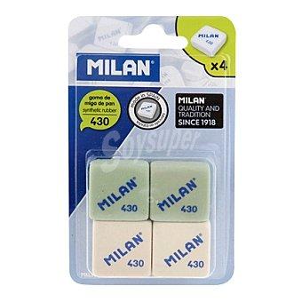Milan Gomas de Borrar 430 Pack 4