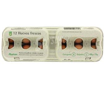 Productos Económicos Alcampo Huevos Clase L 12 Unidades