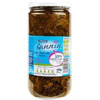 Eroski Sannia Espinacas bajas en sal Frasco 425 g