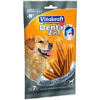 Vitakraft Dental 2en1 perro mediano Paquete 180 g
