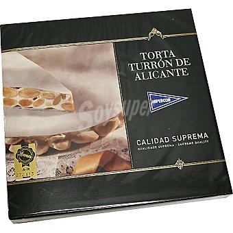 HIPERCOR torta turrón de Alicante estuche 200 g