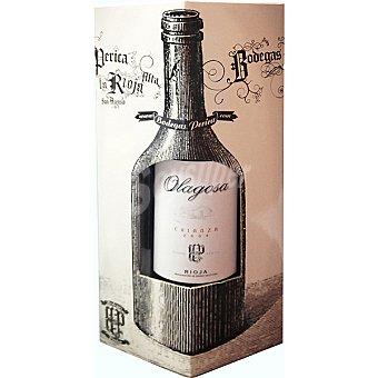 OLAGOSA Vino tinto crianza D.O. Rioja Estuche 3 botellas 75 cl