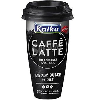 SIN AZUCAR Caffe latte kaiku 230 ML