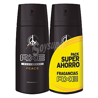 Axe Desodorante Peace spray Pack 2x150 ml