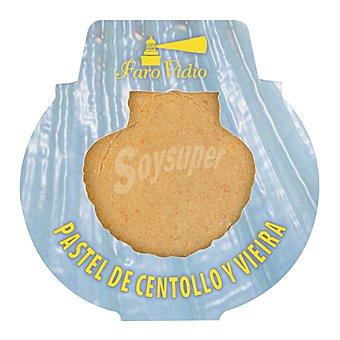 Vieira Pastel de centollo y 1 ud