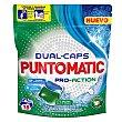 Detergente en cápsulas Pro-action 18 lav. Puntomatic