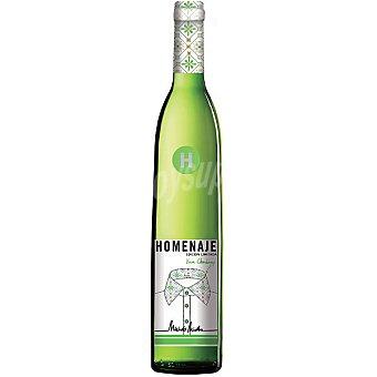 Homenaje Vino blanco chardonnay D.O. Navarra botella 75 cl 75 cl