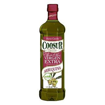 Coosur Aceite de oliva virgen extra variedad Arbequina Botella de 1 l