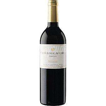 CASTILLO DE AGUARON Vino tinto crianza D.O. Cariñena elaborado para grupo El Corte Inglés Botella 75 cl