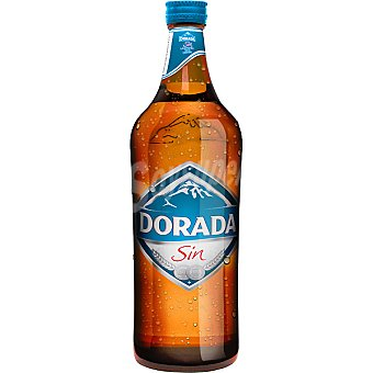 Dorada Cerveza sin alcohol Botella 75 cl