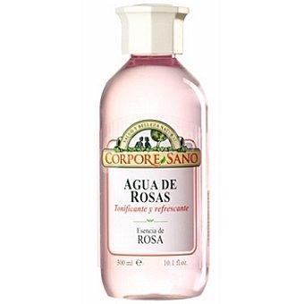 CORPORE SANO Agua de Esencia de Rosas tonificante y refrescante Envase 300 ml