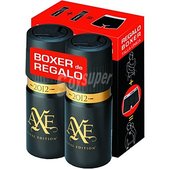 Axe Desodorante 2012 Pack 2x150 ml + Regalo
