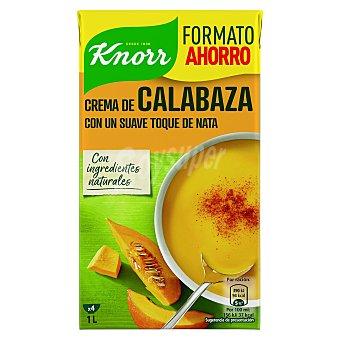 Knorr Crema de calabaza con un toque suave de nata 1 l