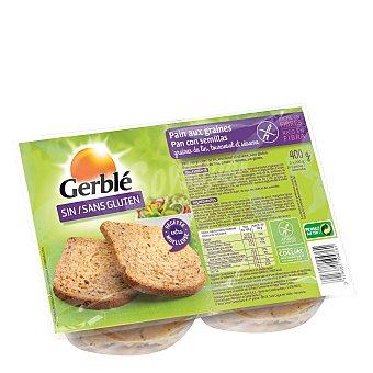 Gerblé Pan de semillas sin gluten 400 gr