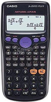 Casio FX-350ES Plus - Calculadora científica, color negro