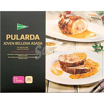 El Corte Inglés Pularda joven asada rellena con salsa de trufa y puré de manzana sin gluten envase 2,1 kg Envase 2,1 kg