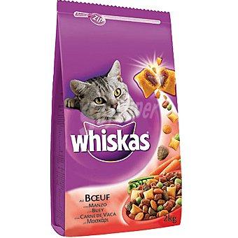 Whiskas Buey Paquete 2 kg