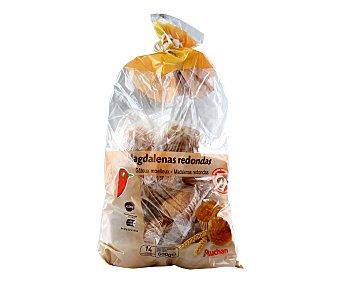 Auchan Magdalenas redondas 600 gramos