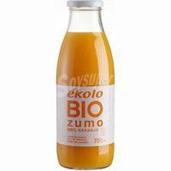 Ékolo Zumo de naranja ecológico sin azúcar ékolo Botellín 20 cl