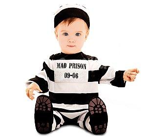 My other me Disfraz de preso para bebé, 12-24 meses 1 unidad