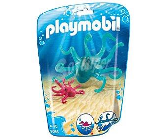 Playmobil Conjunto de dos figuras Pulpo con bebé, 9066 playmobil