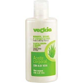Veckia Aceite corporal con aloe vera para todo tipo de piel frasco 150 ml hidrata calma y repara Frasco 150 ml