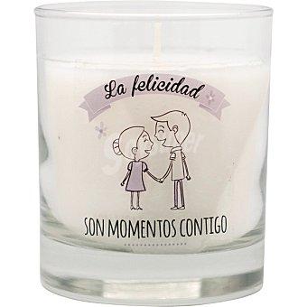 Vela perfumada Frase Nº.2 en vaso Ambient Air. Aroma Orquídea