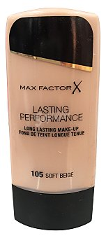 Max Factor Maquillaje lasting performance Nº 105 color beige suave 1 unidad