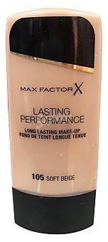 Max Factor Maquillaje lasting performance Nº 105 color beige suave 1 unidad