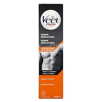 Veet For Men Crema depilatoria para hombre Tubo 200 ml