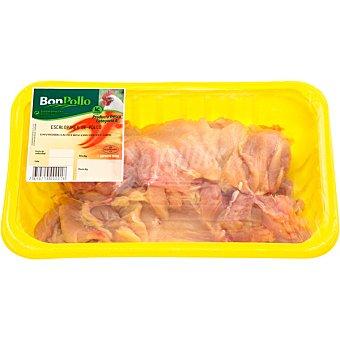 BONPOLLO Escalopes de pollo bandeja 500 g peso aproximado Bandeja 500 g