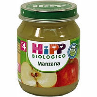 HiPP Biológico Tarrito de compota de manzana Tarro 125 g