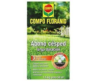 Compo  Floranid, Abono césped 1,5 Kilogramos