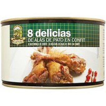 Martiko Delicias de ala de pato en confit 8 unid